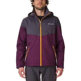 Columbia Inner Limits Jas Heren, black cherry/shark